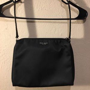 Original Kate Spade Satin Shoulder Bag Black
